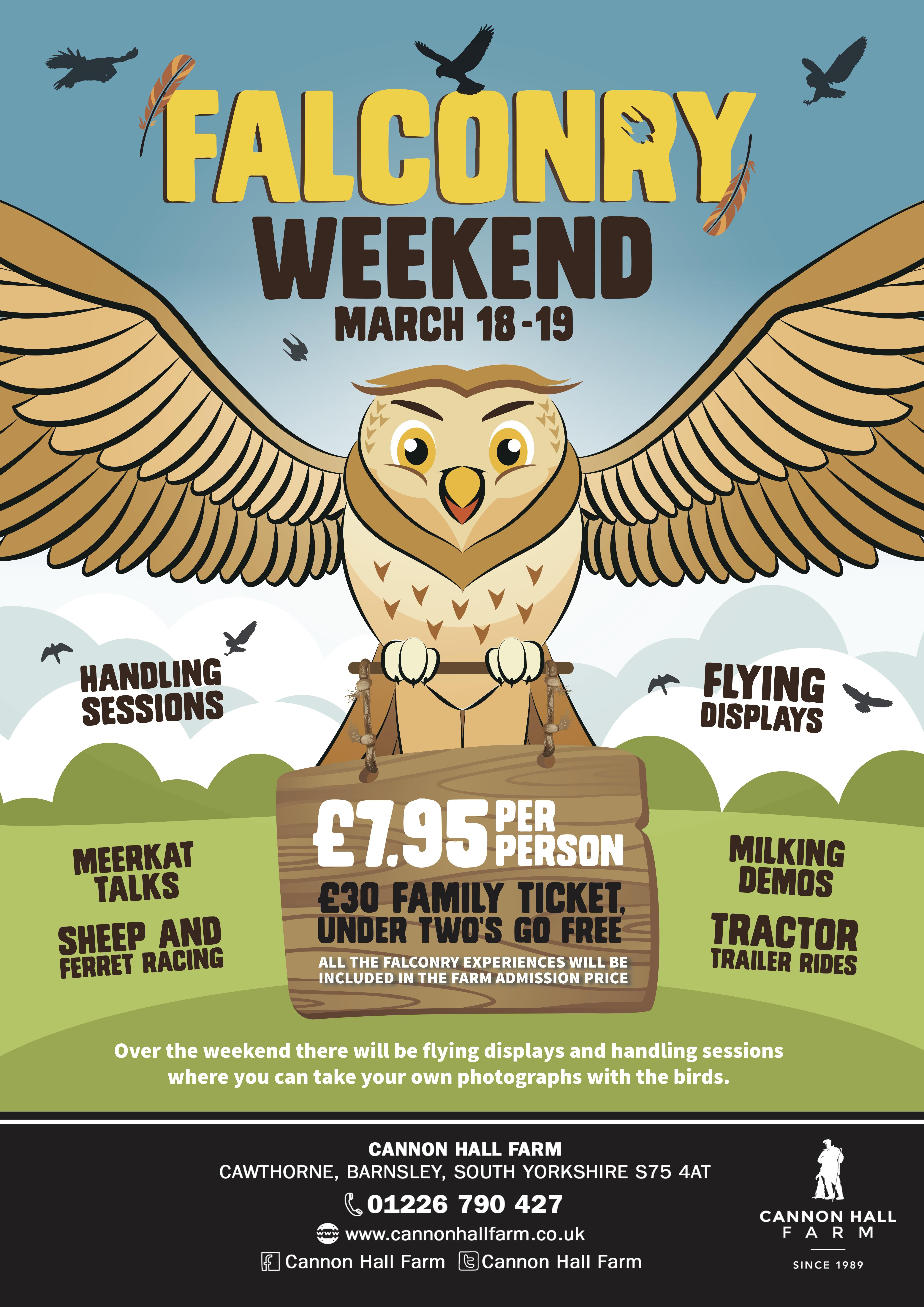 Falconry Weekend A2