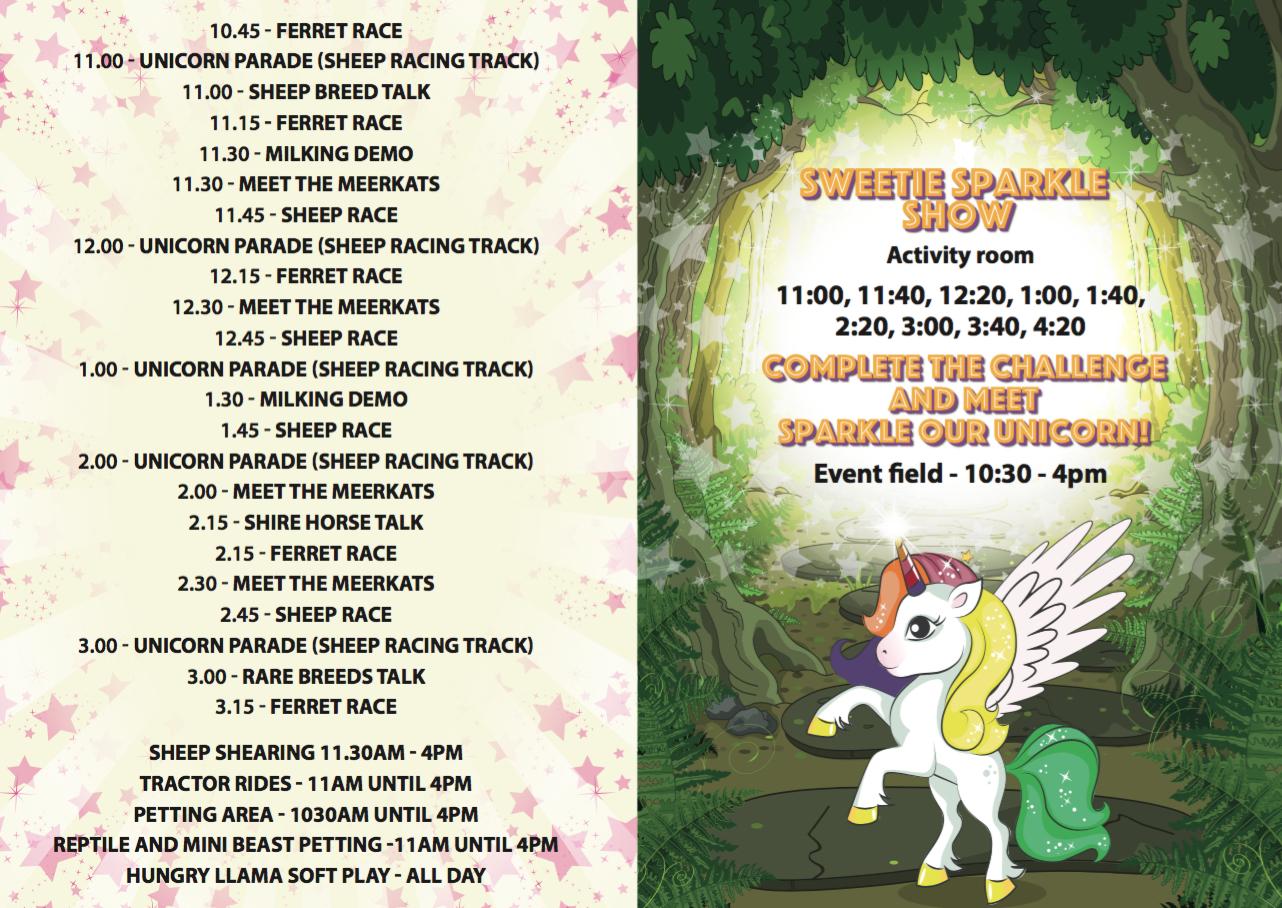 Unicorn Web Event Sheet