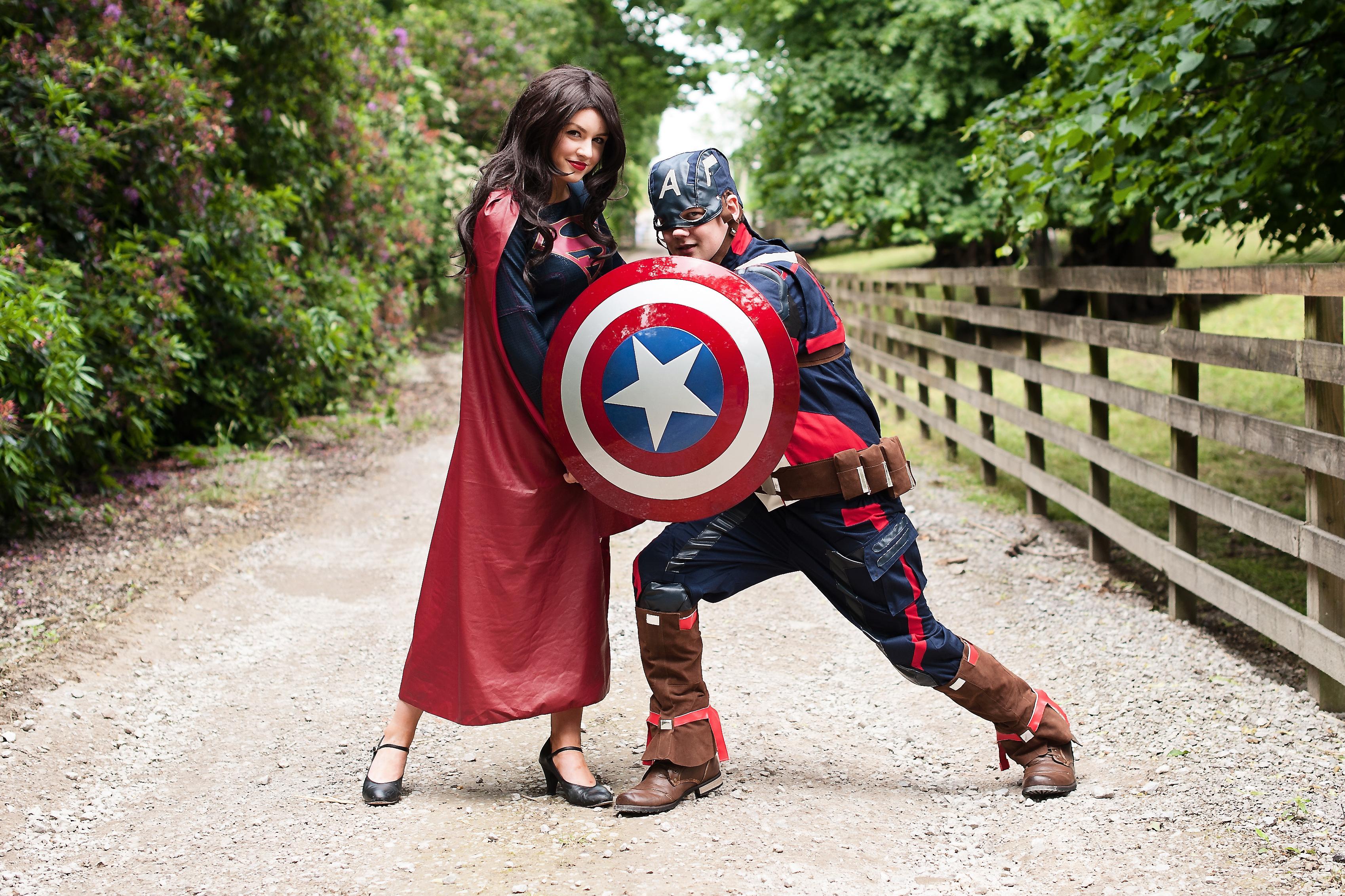 Captain America - Supergirl-9