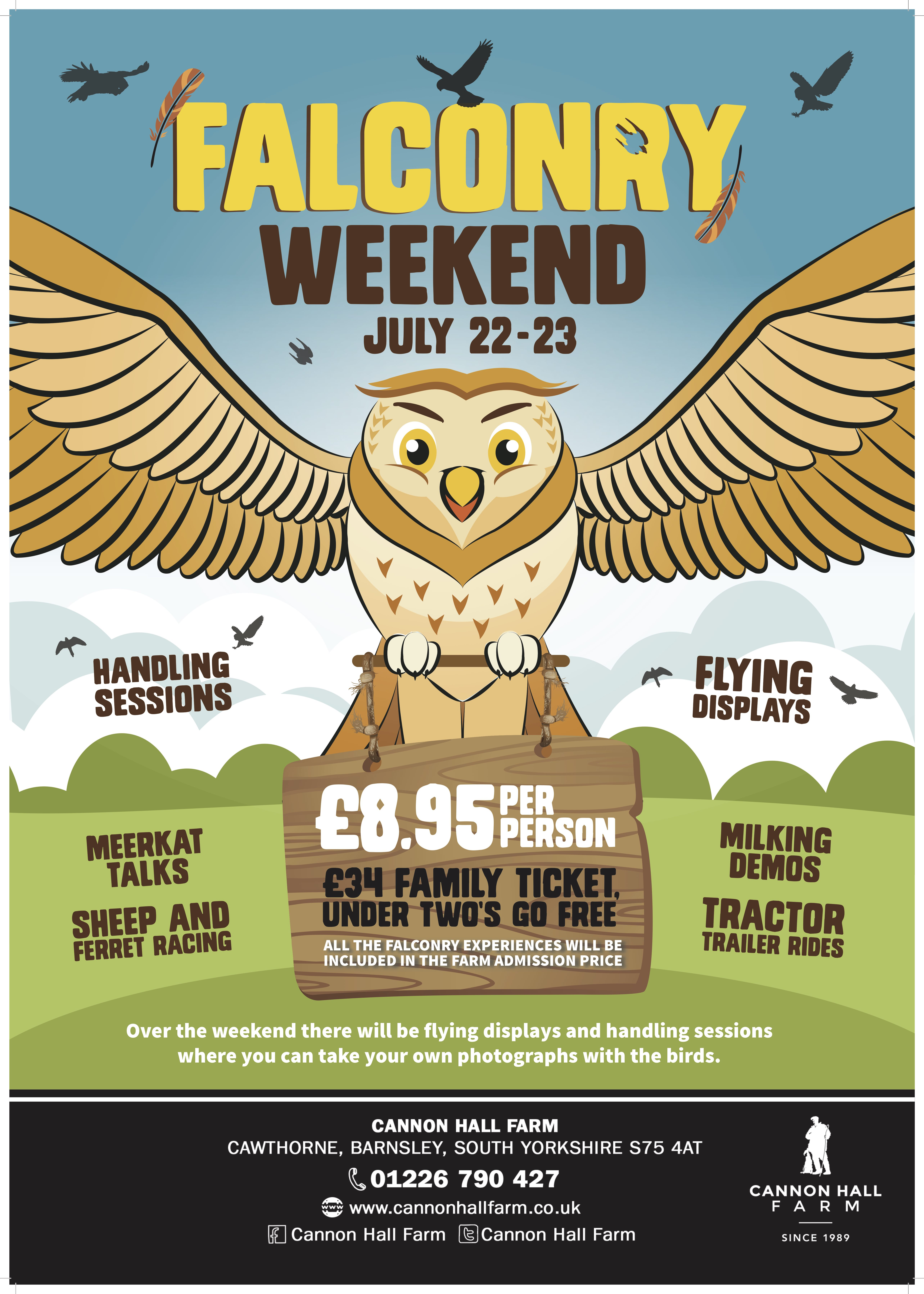 Falconry Weekend A2new