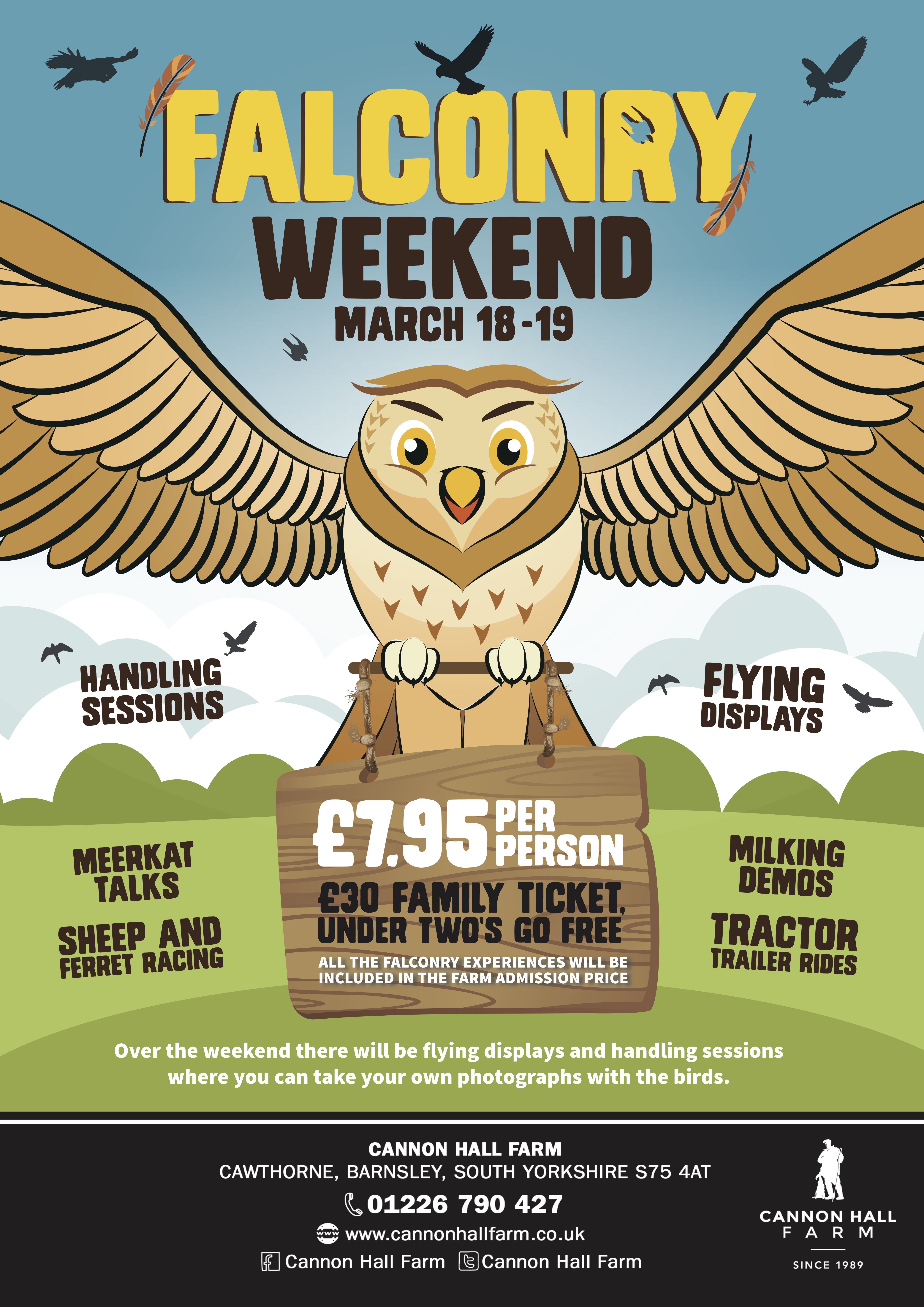 Falconry Weekend A2