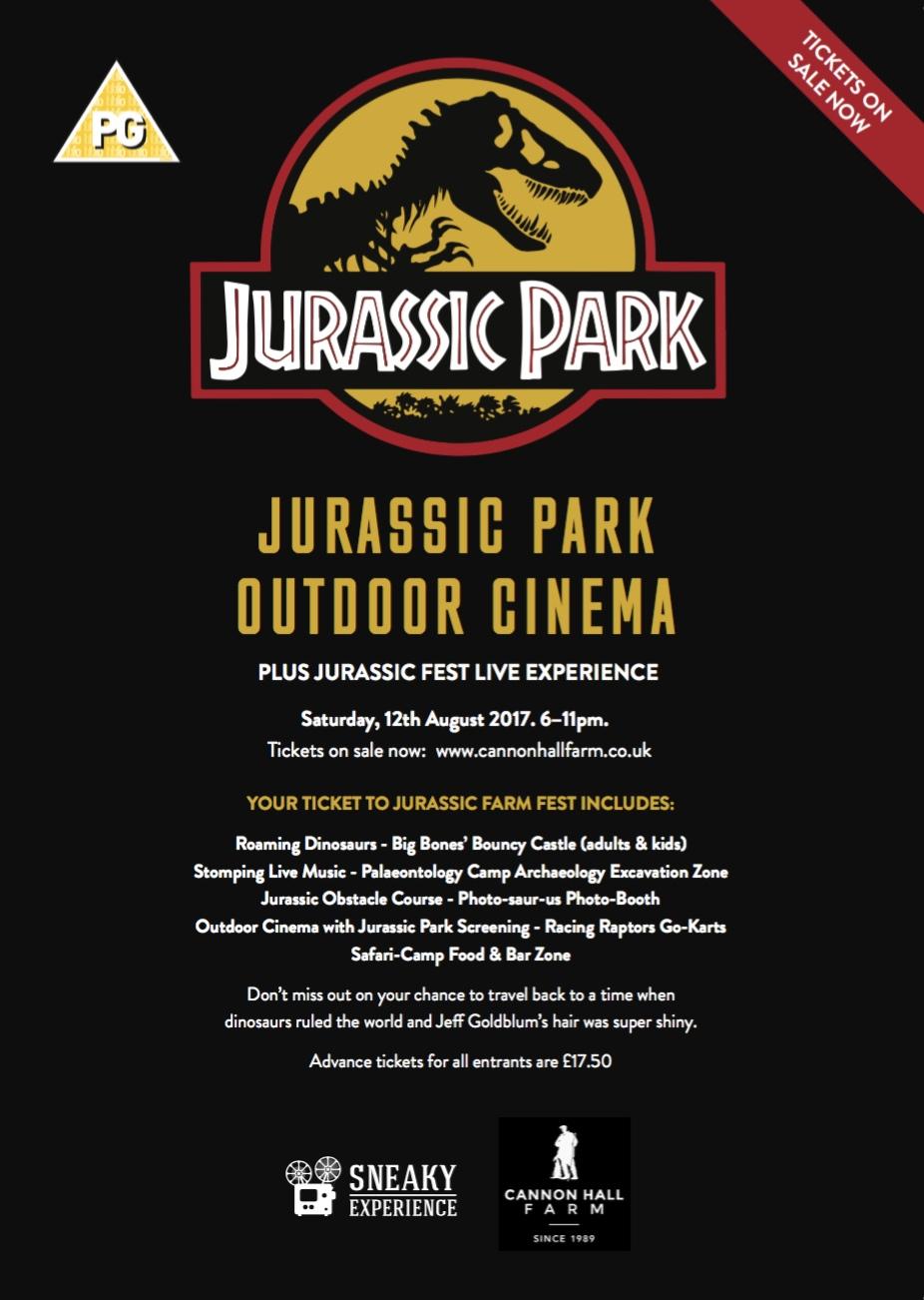 Jurassic Park new poster