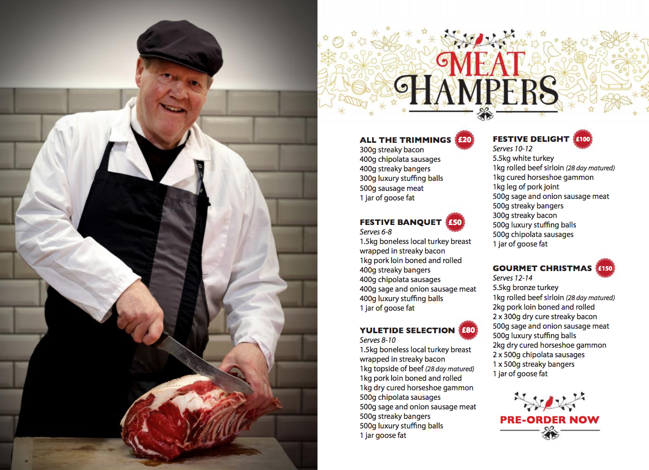 Meat hampers 2017