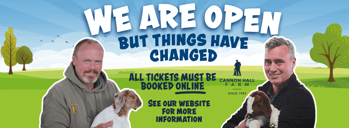 We are open - but things have changed
