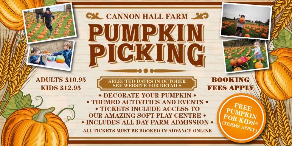 Image of Pumpkin Picking event advertisement